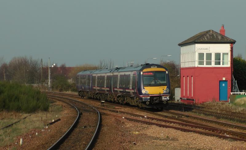 Photo of Hybrid 170453/425 Leuchars 25/03/2012