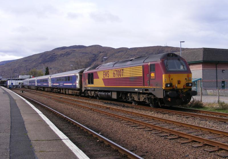 Photo of 67007 Fort William