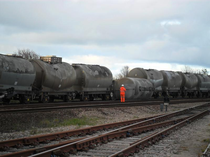 Photo of Derailment Craiginches 9th May 2012