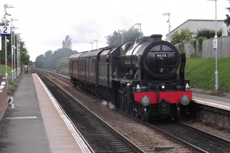 Photo of 46115 at South Gyle