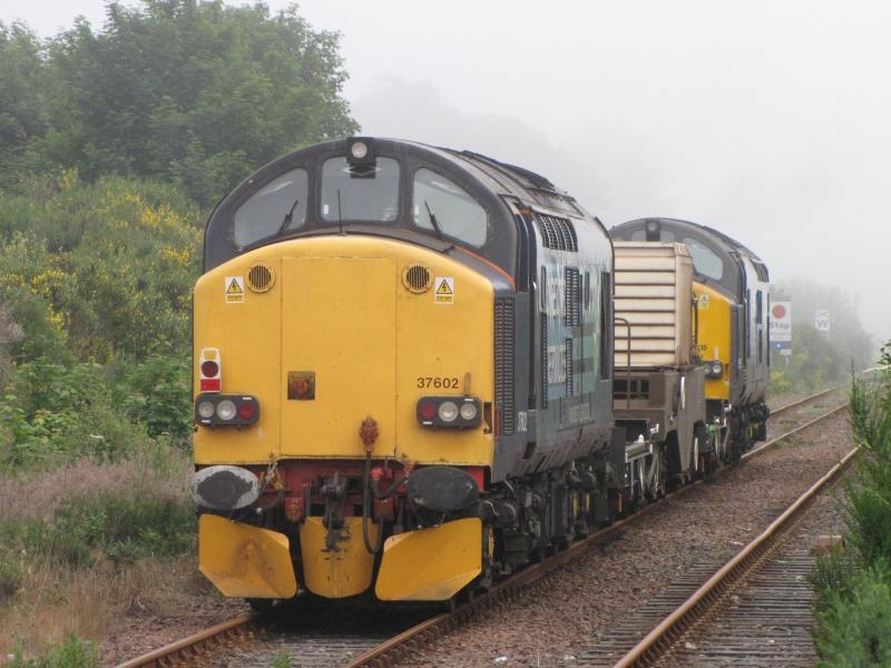 Photo of 37 602 6S99 Carlisle - Georgemas Junction