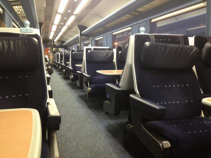 Photo of Interior of East Coast HST (East Midland Trains set)