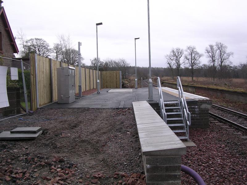 Photo of Conon Bridge - New Station Construction