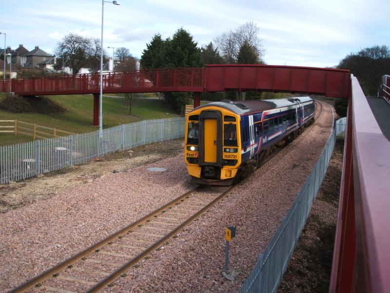 Photo of 158721 at Alloa West.