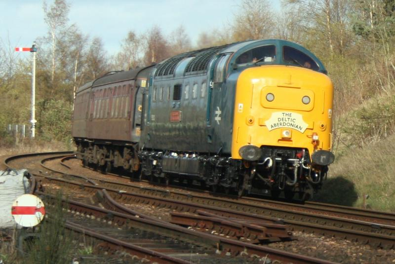 Photo of The Aberdonian Deltic.
