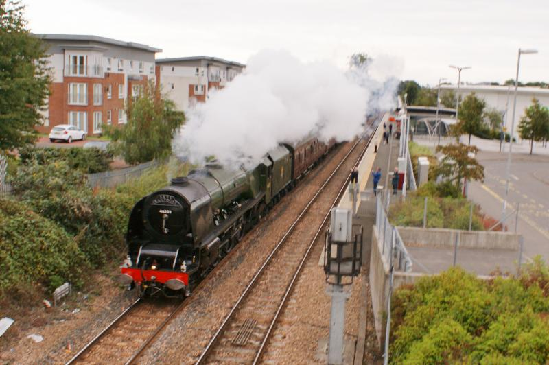 Photo of Duchess of Sutherland at Alloa Station