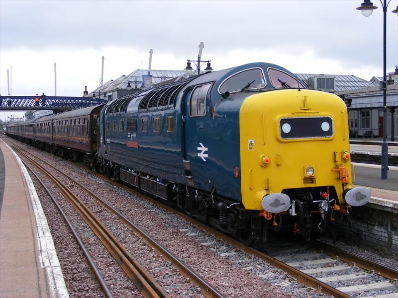 Photo of 55022 At Stirling While Working The SAK Shuttles.