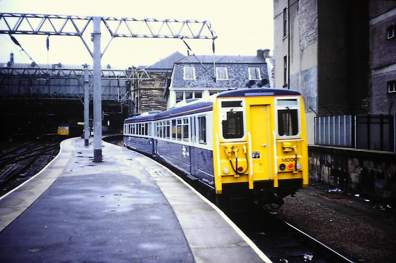 Photo of 140001 at Glasgow Central, 18 August 1981
