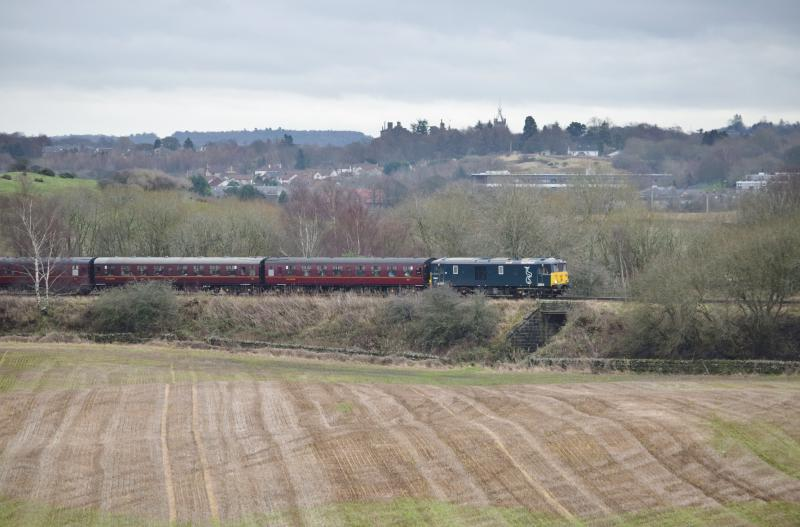 Photo of 73966 approaching Manuel