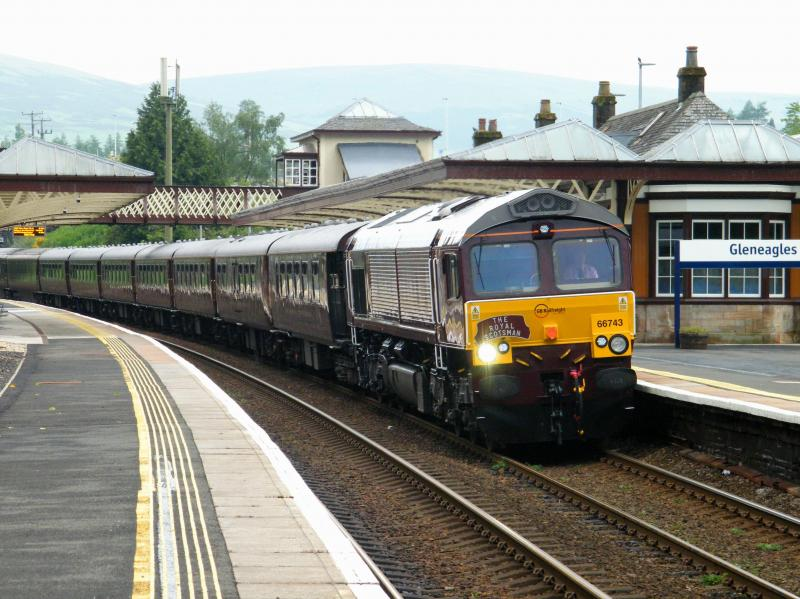 Photo of 66743 at Gleneagles - 13 June 2016