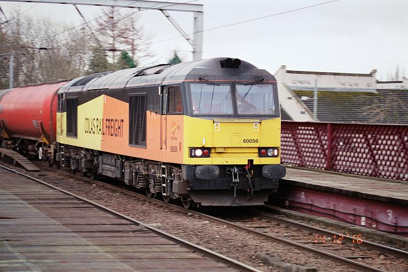 Photo of 60056 passing Coatbridge Central