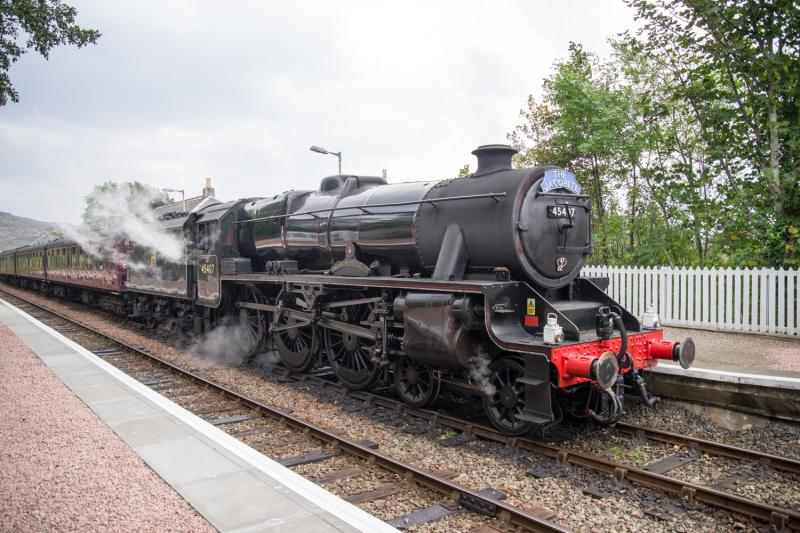 Photo of 45407 The Lancashire Fusilier.
