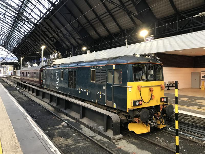 Photo of 73971 240118 2Z03 Glasgow QS