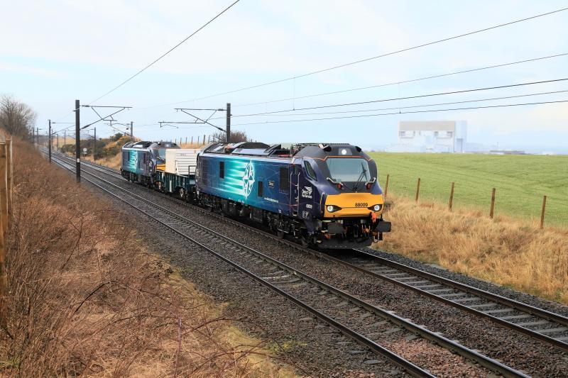 Photo of Class 88 on 6M50
