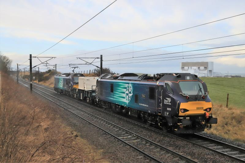 Photo of Class 88 on 6M50 spot the difference