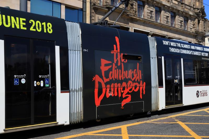 Photo of New Vinyl on Tram 276