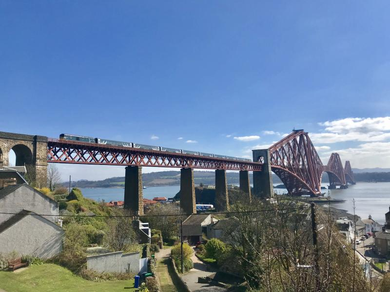 Photo of 73969 73971 1Z75 100419 North Queensferry