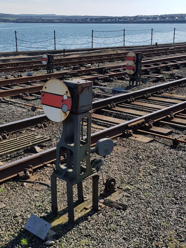 Photo of Stranraer Shunt Signals