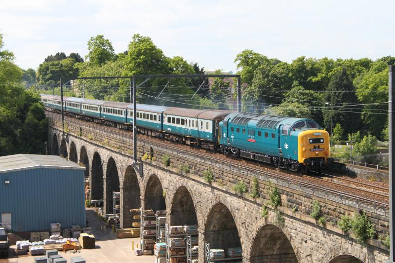 Photo of Deltic approaches Slateford