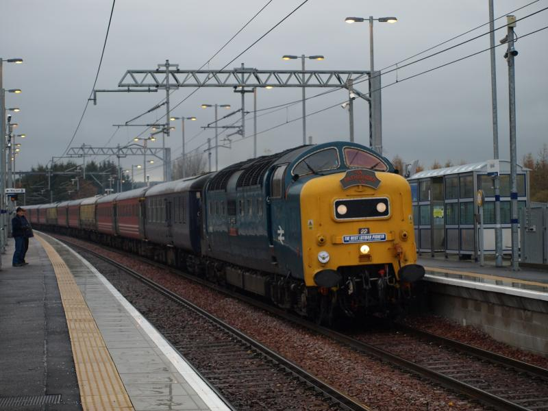 Photo of 55022 through Uphall