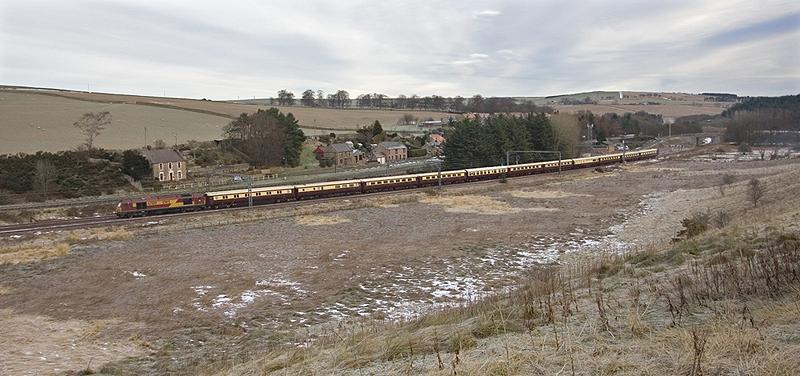 Photo of 1Z64 passing Grantshouse