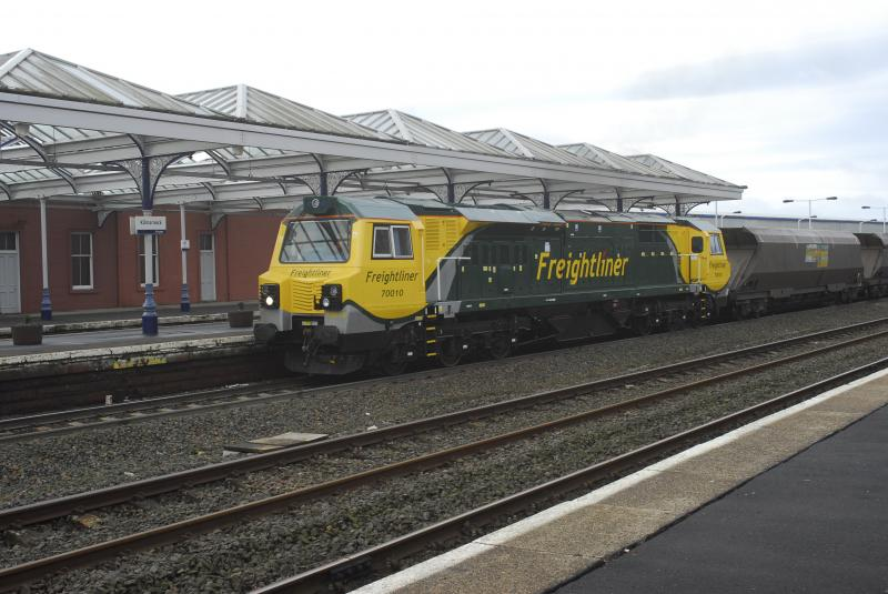 Photo of 70010 AT KILMARNOCK 25 JAN 2011
