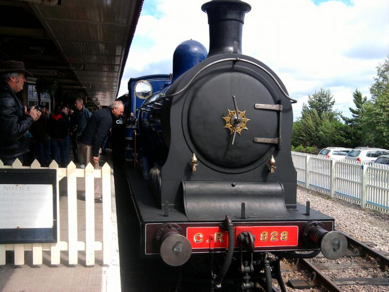 Photo of 828 at Aviemore