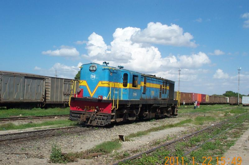 Tanzania Railways Corporation Shot of Tanzania Railways