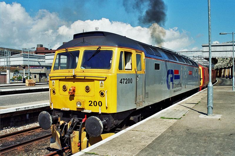 Photo of 47200 in Aberdeen on 1Z96 Aberdeen - Carstairs 070705